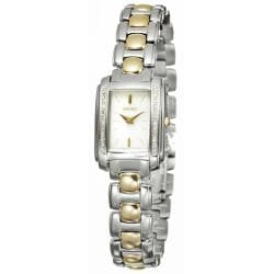 Seiko Women's 'Diamond' Two-tone Steel Quartz Watch