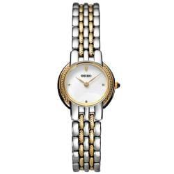 Seiko Women's 'Dress' Two-tone Steel Quartz Watch