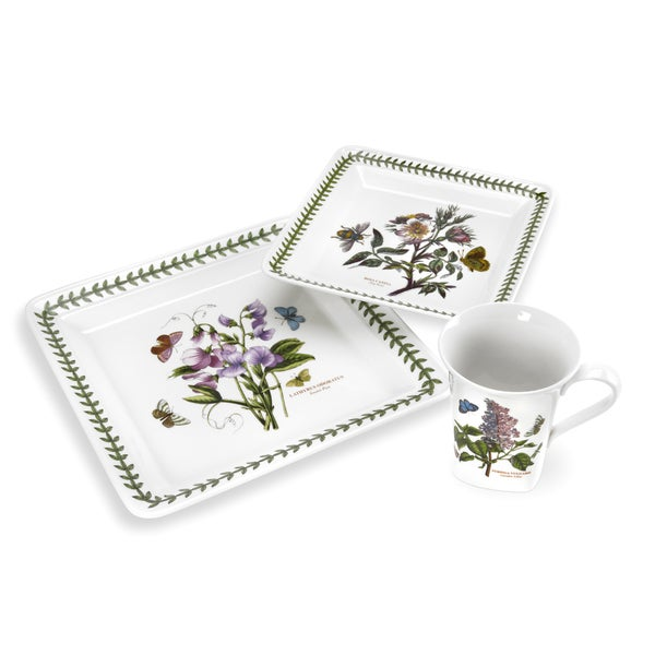 Portmeirion Botanic Garden 12-piece Square Dinnerware Set
