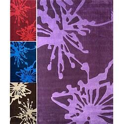 nuLOOM Handmade Norwegian Sky Fireworks Splash Rug (7'6 x 9'6)