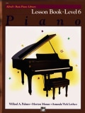 Alfred's Basic Piano Library Piano Level 6: Lesson (Paperback)