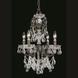 Legacy 4-light English Bronze Chandelier