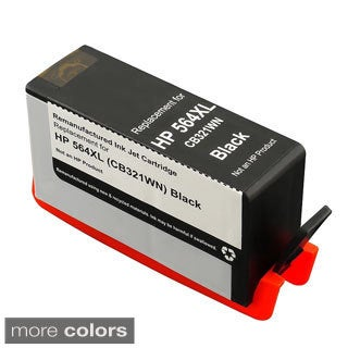 Black Ink Cartridge for HP 564XL/ CB321WN/ CB316WN (Remanufactured)