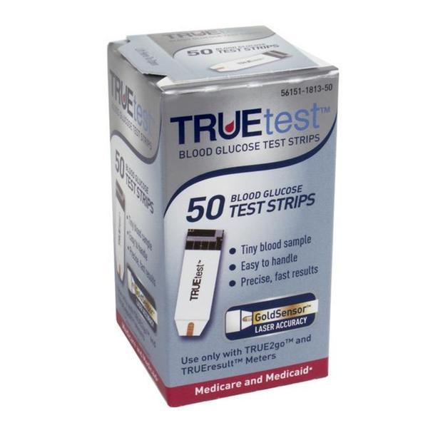 True Test Blood Glucose 50-ct Test Strips