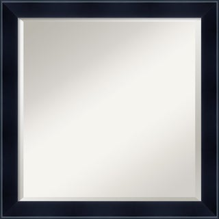 Madison Black Square Wall Mirror