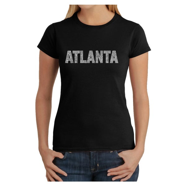 Los Angeles Pop Art Women's Atlanta T-shirt