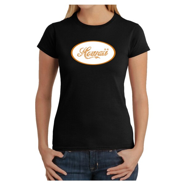 Los Angeles Pop Art Women's Hawaii T-Shirt