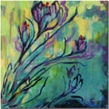 Wendra 'Crocus' Canvas Art