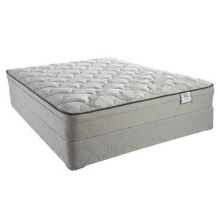 Sealy Brand Inari Plush Euro Top California King-size Mattress Set