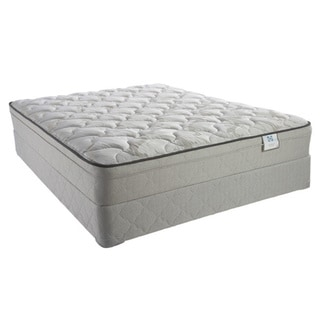 Sealy Brand Inari Plush Euro Top Queen-size Mattress Set