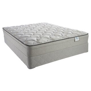 Sealy Brand Inari  Plush Euro Top Twin-size Mattress Set