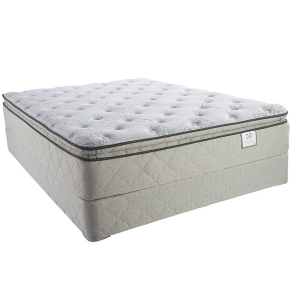 Sealy Brand Moonstruck Plush Euro Pillowtop King-size Mattress Set
