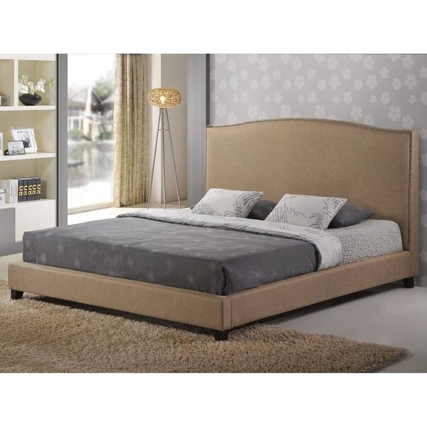 Aisling Fabric King Platform Bed