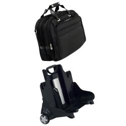 McKlein 'Midway' Nylon 17-inch Detachable Wheeled Laptop Bag