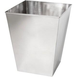 Stainless Steel Mirrored Wastebasket