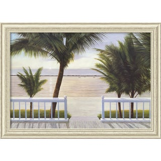 Diane Romanello 'Palm Bay' Framed Art