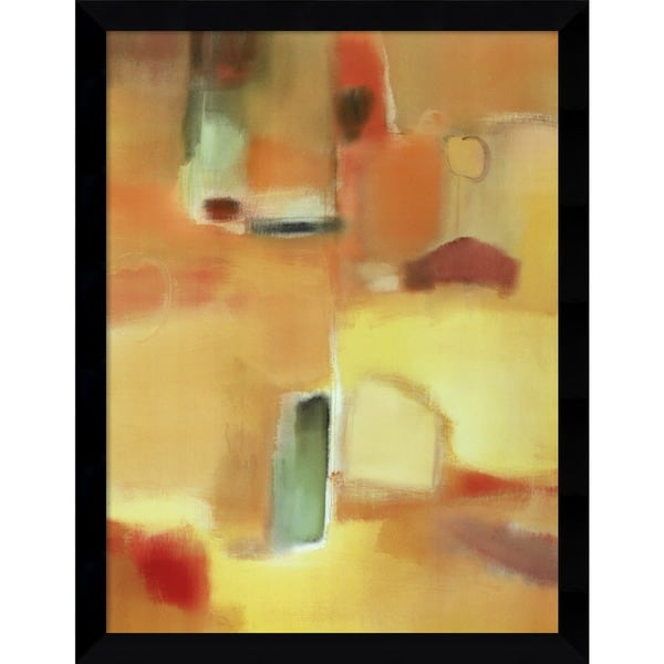 Nancy Ortenstone 'In a Mellow Mood' Framed Art