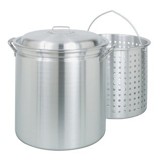 24-quart Aluminum Stockpot