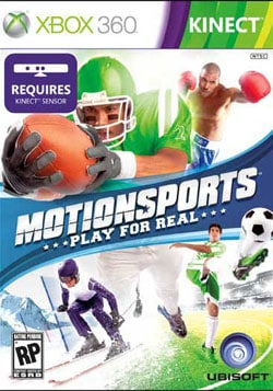 Xbox 360 - MotionSports: Play For Real (Kinect)