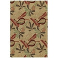 Home & Porch Tybee Linen Indoor/ Outdoor Rug (3' x 5')