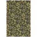 Home & Porch Wymberly Coffee Indoor/ Outdoor Rug (5 x 7'6)
