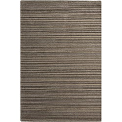 Hand-woven Affinity Brown/ Taupe Rug (5' x 8')