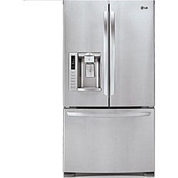 LG 27.6-cubic-feet Stainless Steel French Door Refrigerator