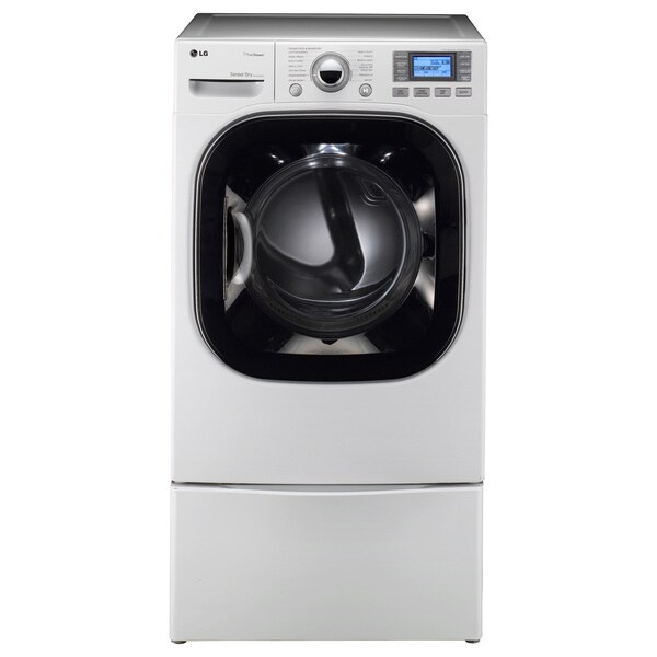 LG 7.4-cubic-foot White Front Panel Electric Dryer