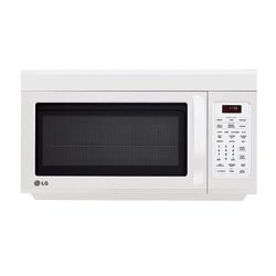LG LMV1813SW Over-the-range 1.8-cu-ft 1100-watt Microwave Oven in White