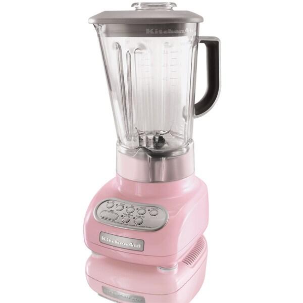 KitchenAid RKSB560PK Pink 5-speed Polycarbonate Jar Blender (Refurbished)