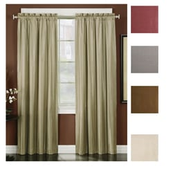 Irridescent Faux Silk 95-inch Thermal-backed Panel Pair