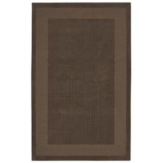 Nourison Westport Hand-tufted Mocca Wool Rug (8' x 10'6)