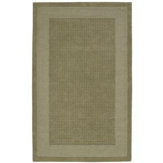 Nourison Westport Hand-tufted Sage Wool Rug (8' x 10'6)