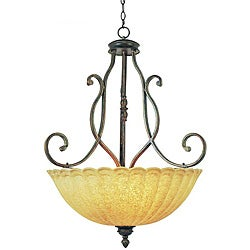 Century 3-light Bowl Pendant