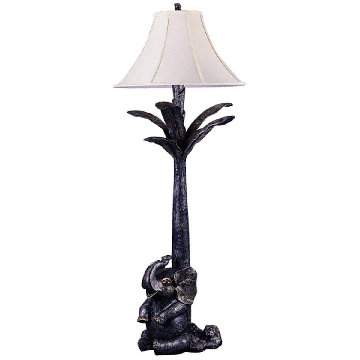 Elephant Oil-rubbed Bronze Floor Lamp
