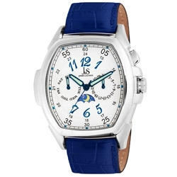 Joshua & Sons Men's Stainless Steel Strap Watch