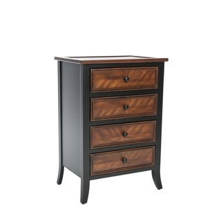 Safavieh Dodger Brown Side Table