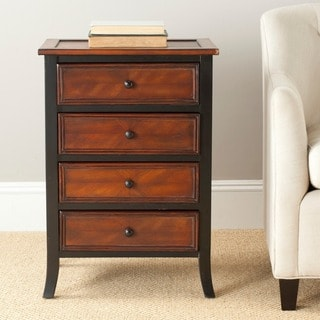 Safavieh Dodger Brown Side Storage Table