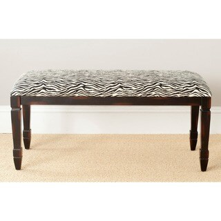 Safavieh Mona Zebra-print Bench