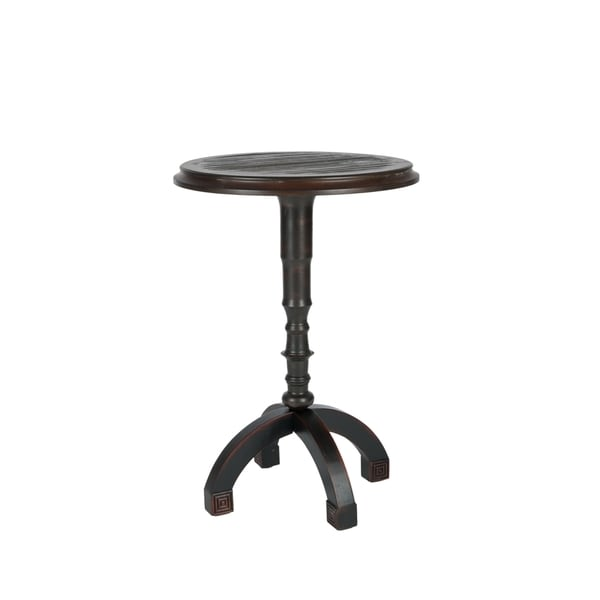 Safavieh Barnaby Walnut Accent Table
