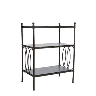 Safavieh Marshal Walnut Brown 3-tier Stand