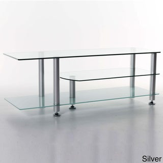 'Rocket' Glass TV Stand