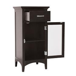 Classique Espresso Floor Cabinet by Elegant Home Fashions