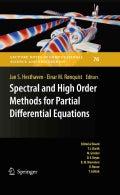 Spectral and High Order Methods for Partial Differential Equations: Selected Papers from the ICOSAHOM '09 Confere... (Hardcover)
