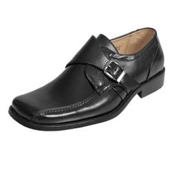 Majestic Collection Boy's Buckle Accent Loafers
