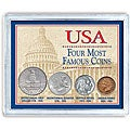 American Coin Treasures Four Most Famous American Coins Collection