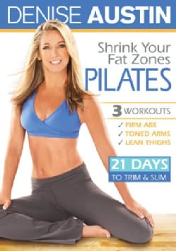 Denise Austin: Shrink Your Fat Zones Pilates (DVD)