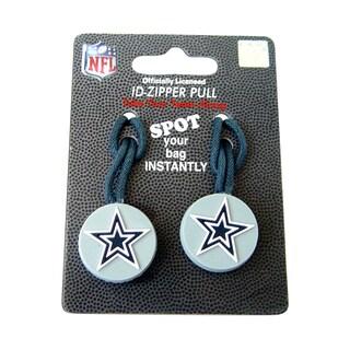 NFL Dallas Cowboys Zipper Pull/ Luggage Tag (Set of 2)
