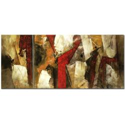 Lopez 'Abstract IX' Canvas Art