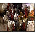 Lopez 'Abstract II' Canvas Art
